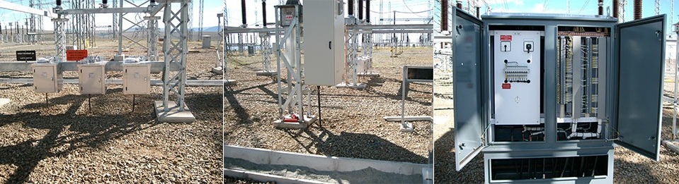 Substation Construction Electrical and Civil Work